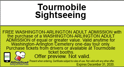 tourmobile washington dc coupons