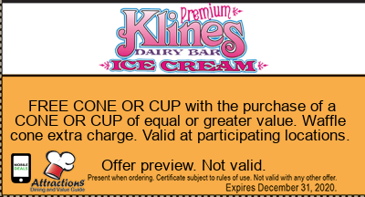 FREE CONE OR CUP with the purchase of a CONE OR CUP of equal or greater value. Waffle cone extra charge. Valid at participating locations.