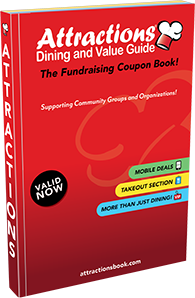 <strong>The Best Places! Better Than Ever!</strong> The Attractions Dining and Value Guide has been the premier way to save money fifteen years running. Each edition contains hundreds of buy one get one free coupons to the best places in your area.